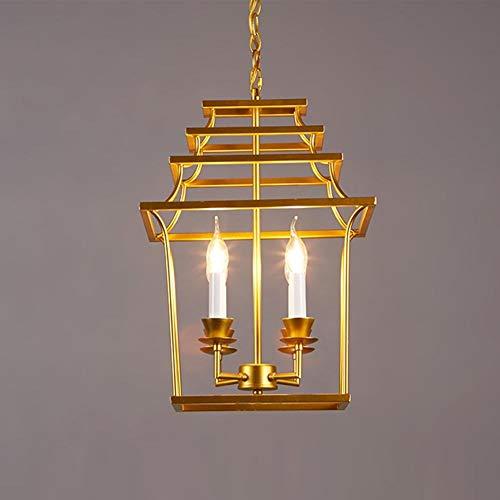 Moderne Hanglamp Industrie Creatieve Persoonlijkheid Metaal Goud IJzer Opengewerkte Vogel Figuur Lampenkap Kroonluchter voor Eetkamer Bar Cafe E14 Socket 4 Vlam Edison Hanglamp