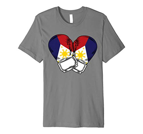 Philippines Filipino Flag Boxing Premium T-Shirt