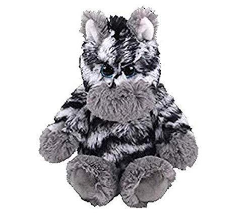Ty Beanie Boos 15 Cm Mummie Uil Vis Beer Pinguïn Schildpad Aap Pluche Grote Ogen Knuffel Pop Speelgoed met Hart Hanger Zahari Zebra Kerst