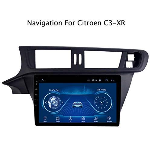 Car la navigatie, videospeler voor auto, 9 inch, Citroën C3-XRAndroid 8.1, stereo, autoradio met GPS-navigatie