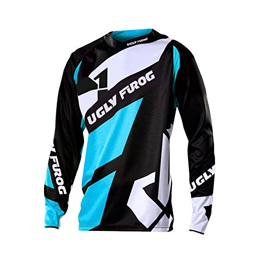 Uglyfrog Uniforme para Downhill MTB Jersey Motocross Shirts Mountain Bike Jersey Long MTB T-Shirt Bicycle Wear Cool