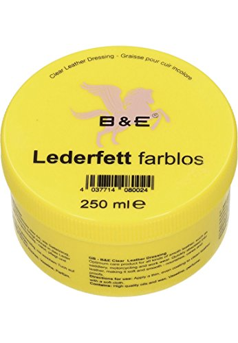 B & E Lederfett - 250 g - farblos