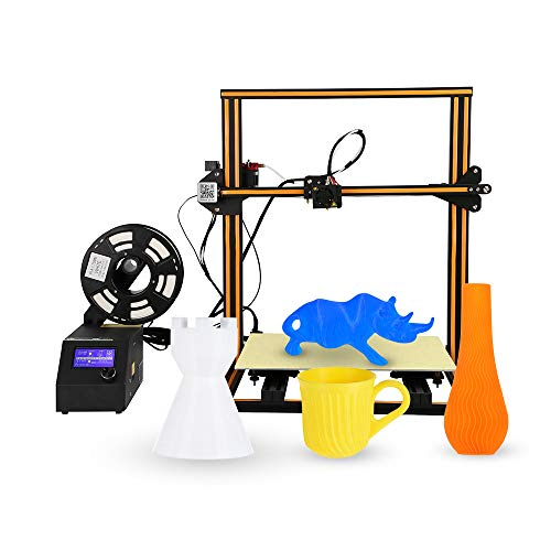 Aibecy Creality 3D CR-10 S5 Imprimante 3D Bricolage Haute précision à Assembler par Auto-Assemblage Facile à Assembler Détection Reprendre la Fonction d'impression Reprendre 500 * 500 * 500mm