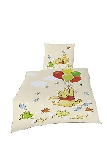 Global Labels Bettwäsche Winnie Pooh Disney Baumwolle 135x200 Wendebettwäsche Freunde