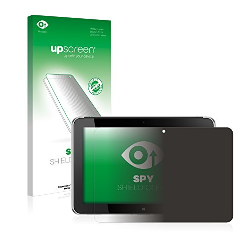 upscreen Anti-Spy Blickschutzfolie kompatibel mit HP ElitePad 1000 G2 Privacy Screen Sichtschutz Bildschirmschutz-Folie