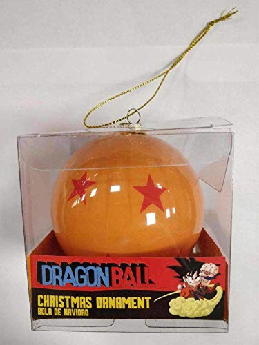 lobcede.be 4 Estrellas Bola Navidad Dragon Ball Official Merchandising Adornos Muebles Pegatinas Decoración del hogar, Multicolor, única