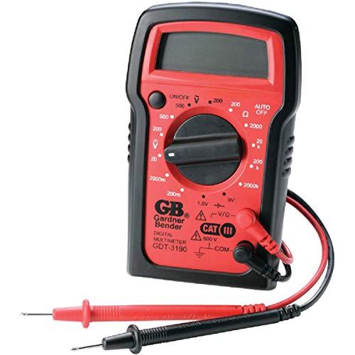 Gardner Bender 500 VAC, 600 VDC 2 meg Ohm, Digital Multimeter - Case of: 1