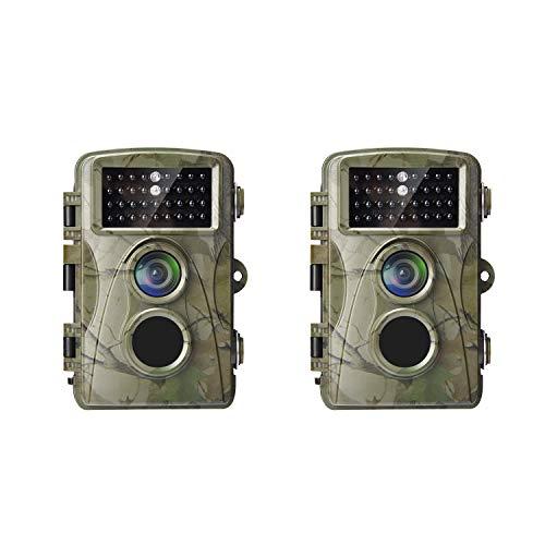 AlfaView Trail Camera 1080P Bewegingsgeactiveerd IP56 Waterdicht ontwerp Scouting jachtcamera voor dieren in het wildjacht en huisbeveiliging