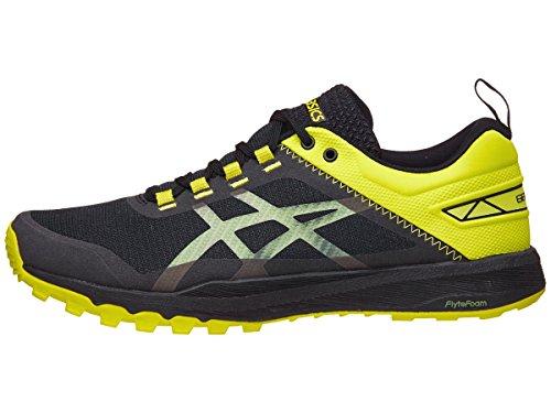 ASICS Mens Gecko XT Sneaker, Black/Carbon/Sulphur Spring, Size 10.5