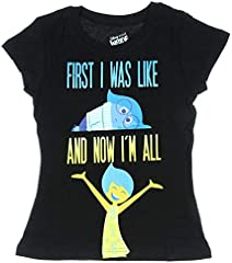 Inside Out Joy Big Girls Short Sleeve Shirt