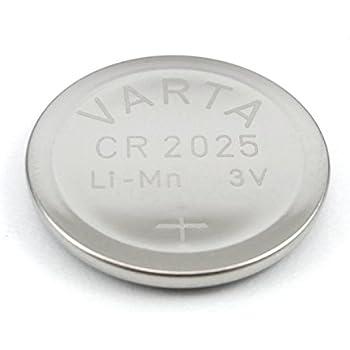 10x 2er Set VARTA Knopfzelle Knopfbatterie Batterie Lithium Cell Power 3V CR2025
