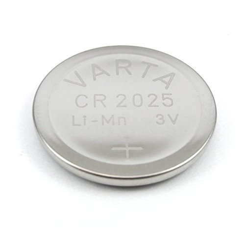 Varta VCR2025 10x Lithium Batterie/Knopfzelle/Button Cell (kompatibel u. a. mit BR2025/DL2025)