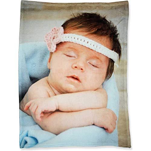 andisi Fotodecke mit eigenem Foto Decke Kuscheldecke Tagesdecke Wohndecke bettwäsche personalisiert(200x150cm)