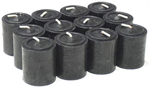 MERCAVIP Thermovip. Die Magie von Kerzenlicht. Kerze Taco Ø3.7 X 4,5 cm. 9 Stunden. Schutz und Macht. Duft Moschus. Value Pack 12 Uds.