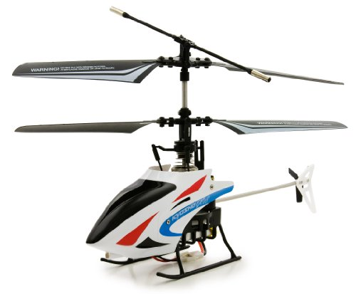 4-channel infrared control radio controlled helicopter rising, descent and hovering and forward / backward, turn left and right! [Red]-RC Heli HT002 (japan import)