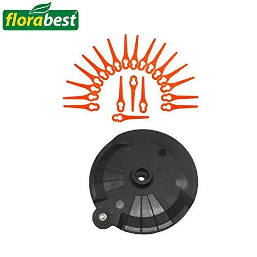 Florabest Set 20 Messer + Schneidscheibe inkl. Schraube FRTA 20 A1 IAN 282232 LIDL Akku Rasentrimmer