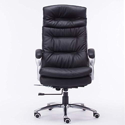 N/Z Daily Equipment Computer Chair Office Boss Leather Chair Study Room Massage Chair Living Room Lift Armchair Black Computer Chair Boss Chair Black 72cm*72cm*72cm