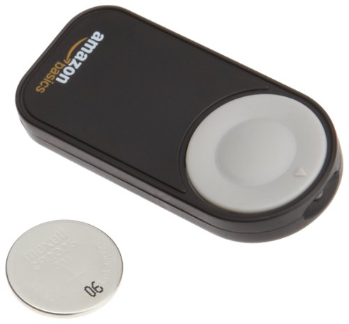 AmazonBasics Wireless Remote Control for Nikon P7000, D3000, D40, D40x, D50, D5000, D60, D70, D7000, D70s, D80 and D90 Digital SLR Cameras