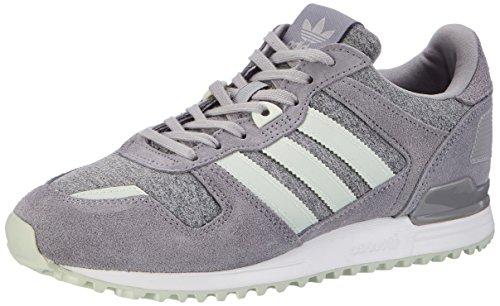 adidas Damen ZX 700 Laufschuhe, Grau (Medium Grey Heather/Linen Green/Grey), 40 2/3 EU