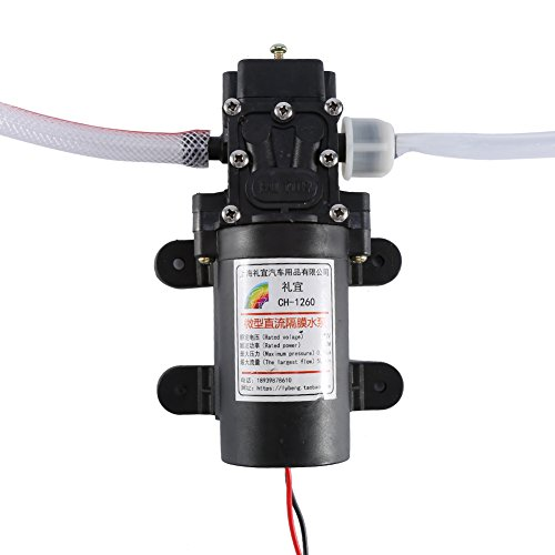 Zerone - Bomba de aceite eléctrico, 12 V, 60 W, bomba de...