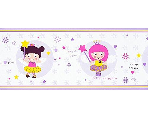Lila 25x20x20 cm Dandino PR3525-1 Cenefa Infantil Princesas