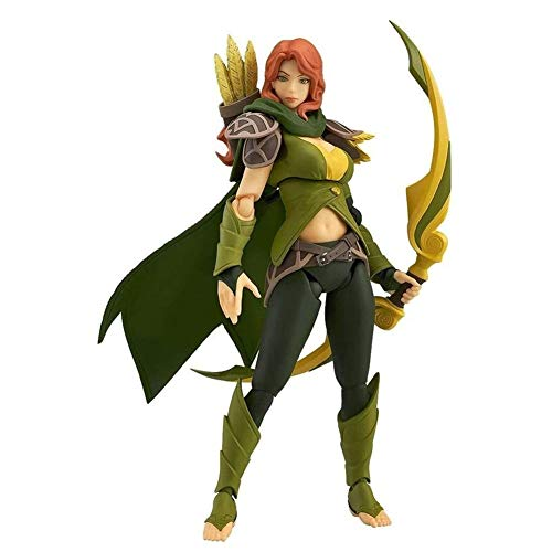 Dota 2 Anime Action Figure Windranger PVC Figures Collectible Model Character Statue Toys Desktop Ornaments