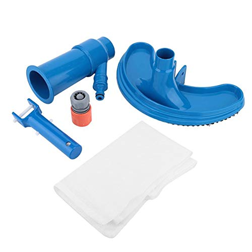 Why Choose NMFIN Vacuum Cleaning Tool Kit, Pond Fountain Underwater Cleaner for Leaves, Dirt, Sand &...
