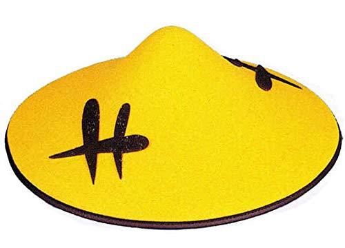Hut: Chinesenhut, gelb