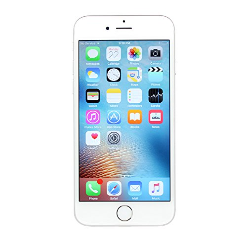 Apple iPhone 6S Plus, 16GB, Silver - For AT&T / T-Mobile (Renewed)