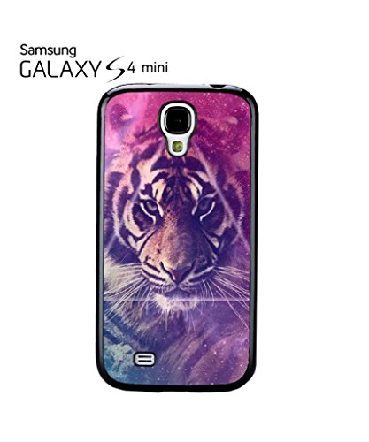 Galaxy Tiger Animal Leopard Mobile Cell Phone Case Samsung Galaxy S4 Mini White