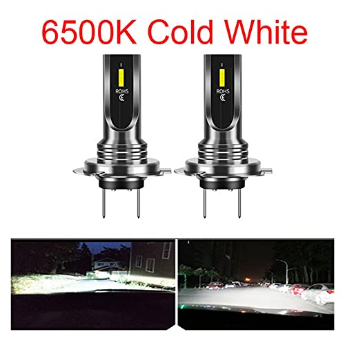 Bombillas automotrices H4 H7 LED Cariño del coche Bombillas 1860 Chips 20000LM 6500K 4500K H1 H3 H11 H13 9004 9005 9006 HB3 HB4 Auto FOG Lights para coches, camiones, SUV (Emitting Color : 6500K)