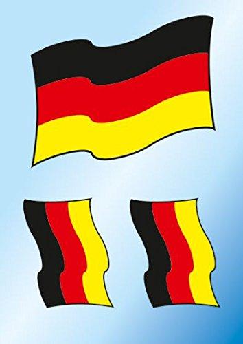 HERMA Drapeau de l'Allemagne