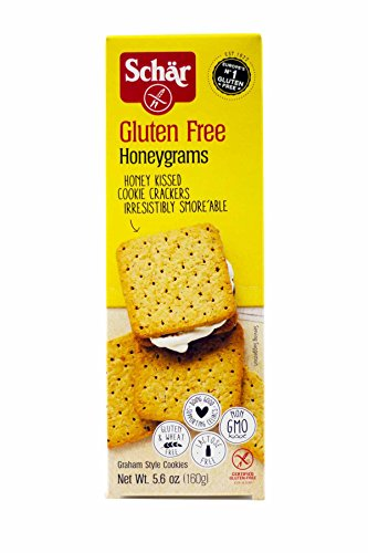 Schar Cookie Honeygrams, 5.6 Oz [Pack Of 12]