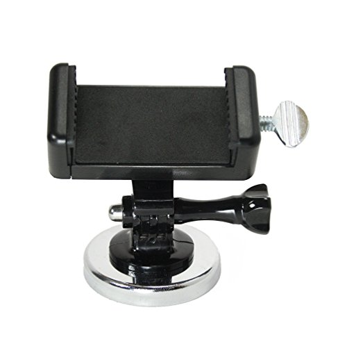 Livestream Gear - Magnetic Phone Mount PRO for Streaming, Video, or Photos. Great for WOD; Fitness Streams at Home, or Gym. Adjustable Phone Mount. (Pro Magnetic Phone)