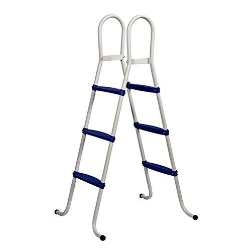 SIMPLE Stahlrohrleiter für Pools bis 92 cm Höhe bis 75 kg Belastung