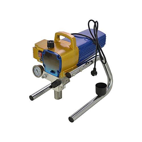 Airless-Spritzlackiermaschine Wandlackierpistole, Professionelle Spritzpistolenmaler 2.5L / Min für Wanddecken/Holz Metallfarbe Innen- und Außenbereich Sprayer Machine