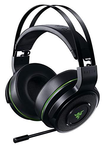 Razer Thresher Xbox One - Kabellose Gaming Kopfhörer für Xbox One + Xbox Series X / S + PC (Wireless Headset, bis zu 16 Stunden Akku-Laufzeit, 50-mm Treiber) Schwarz-Grün