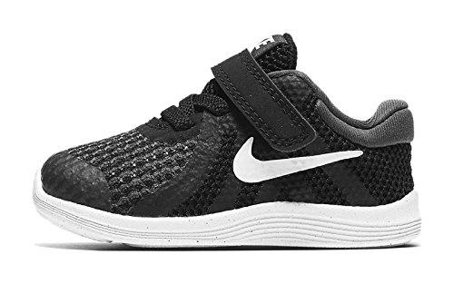 Nike Revolution 4 (TDV), Pantofole Bambino, Nero (Black/White-Anthracite 006), Numeric_18_Point_5 EU