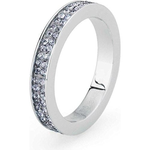 Anello Donna Gioielli Sagapò Crystal Ring Misura 18 Casual cod. SCR33D