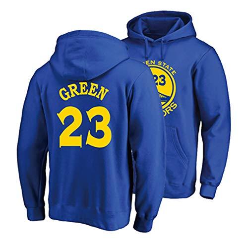 NIUPUPU Hombres Camiseta de Baloncesto NBA Jason Thompson 11 Stephen Curry 30 Oklahoma City Thunder 23 Sudadera con Capucha Jersey de Manga Larga Deportes al Aire Libre S-XXL