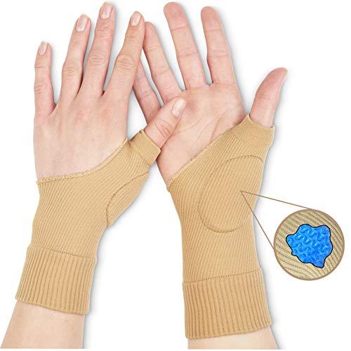 Medipaq® Beschermende Gel Duimbrace (Dubbel Pakket) - Hand- / Duimletsel-Pijnlijke Artritis