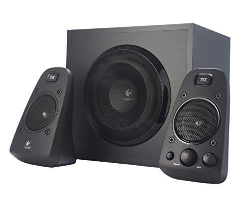 Logitech Z625 - Sistema de Altavoces 2.1 (European Plug) Color Negro (Reacondicionado Certificado)
