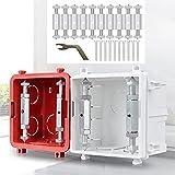 dispositivo di riparazione cassetta, 86 tipo di montaggio scatola set di accessori per la riparazione di interruttori tipo di giunzione casoper riparazioni elettriche
