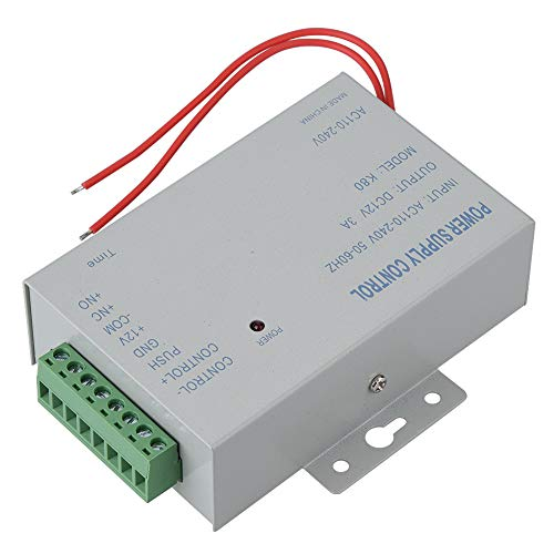 Door Access Power Supply Control, Easy to Use Access Control Power Supply Power Supply Controller for Door Access,for Delaying Control Circuit