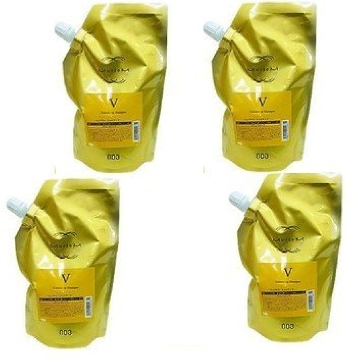 区赤性的【X4個セット】 ナンバースリー ミュリアム ゴールド シャンプー V 500ml 詰替え用