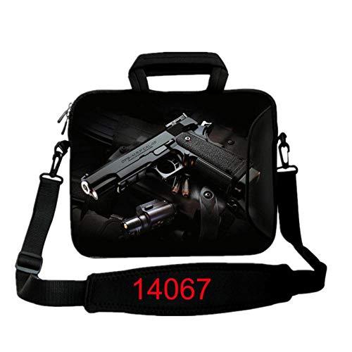 Haodong 13,3 15,6 17,3 Zoll Laptoptasche 10 12 13 14 15 15,4 17,4 Notebook-Umhängetasche Laptop-14067_12 Zoll
