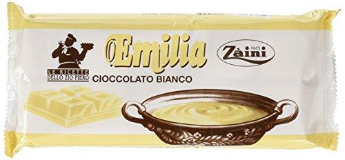 Zaini Blocco di Cioccolato Bianco - 1000 g