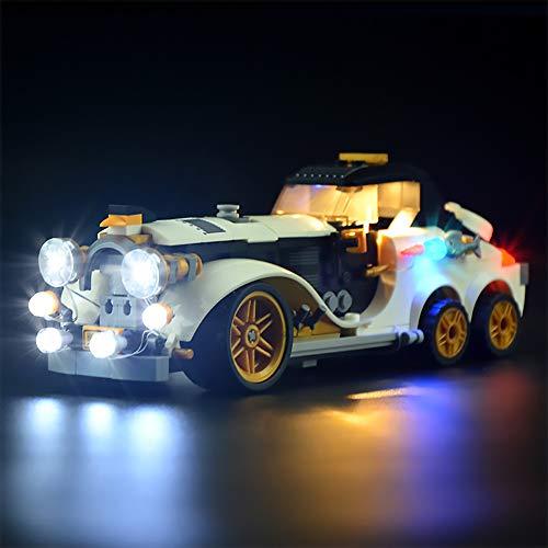 LODIY Beleuchtung Licht Set für Lego Arktis flitzer Batman Pinguin Auto - LED Beleuchtung für Lego 70911 (Nicht Enthalten Lego Modell)
