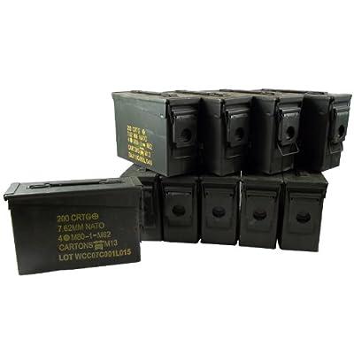USGI 30 Cal Ammo Can Grade 1 (10 Pack)