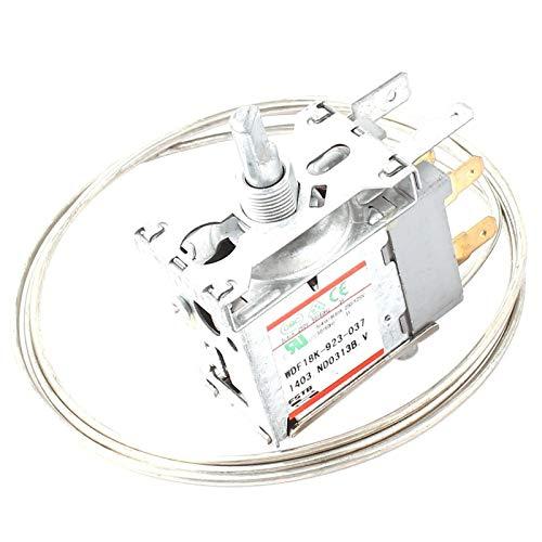 Agger Plata 1pc Tono 3 Pernos congelador Termostato de 5 a 15 Grados centígrados Metal